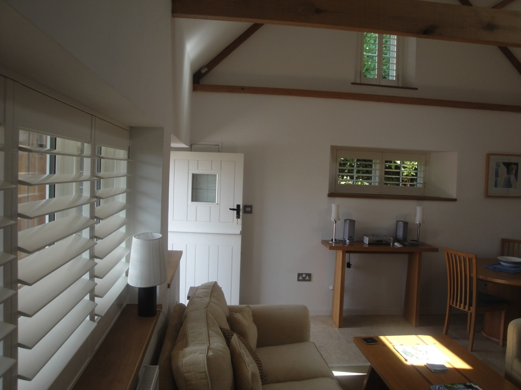 Barn Conversion West Country Shutters