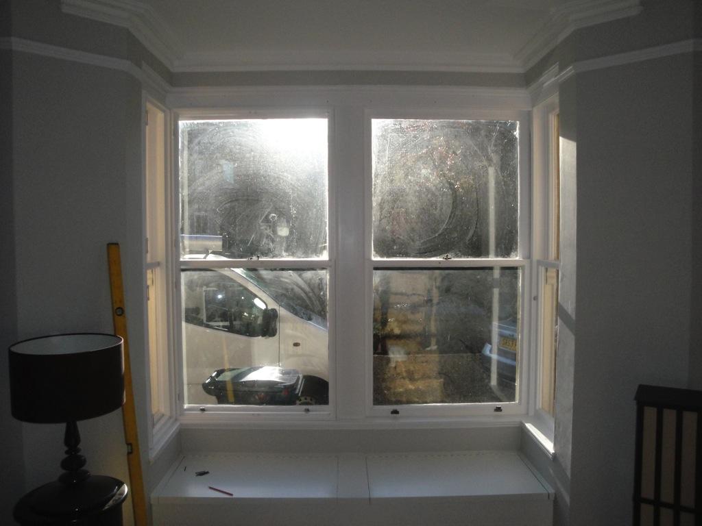 Bay window shutters west country shutters for Bay window installation