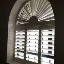 Magnificent Arch Shutters in Bristol