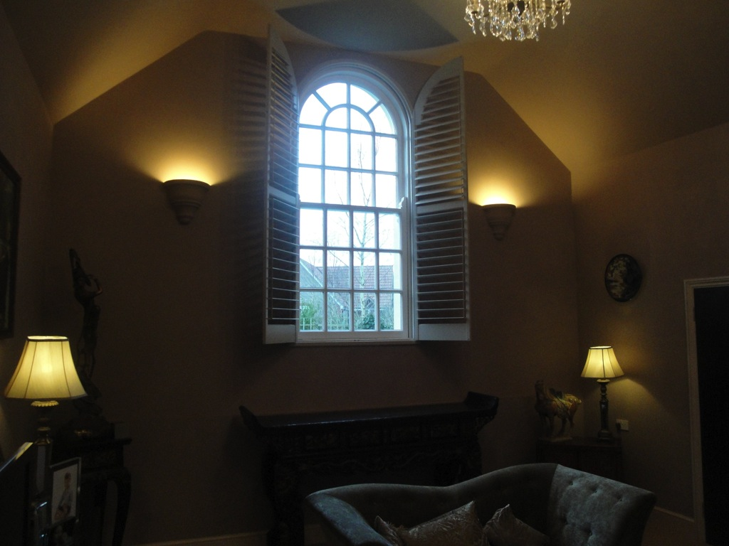 Arched Window Shutters 9