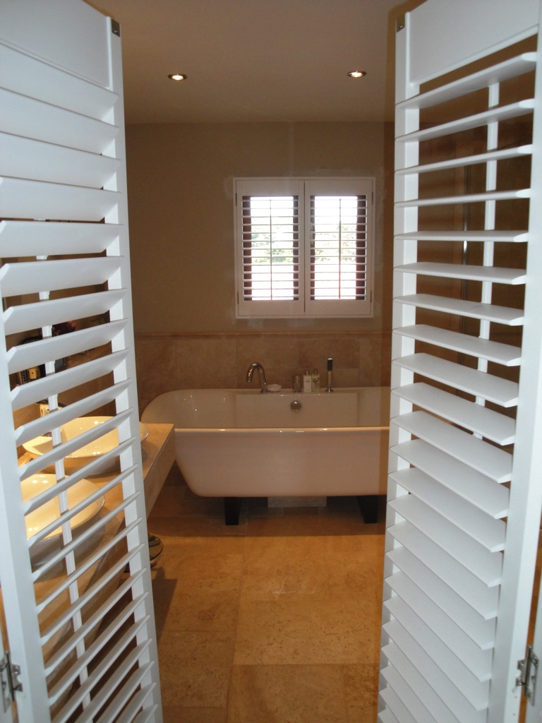 Bathroom Shutters 1