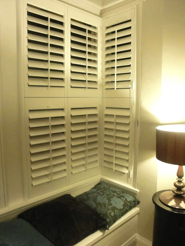 Bay Window Shutters Installation 5