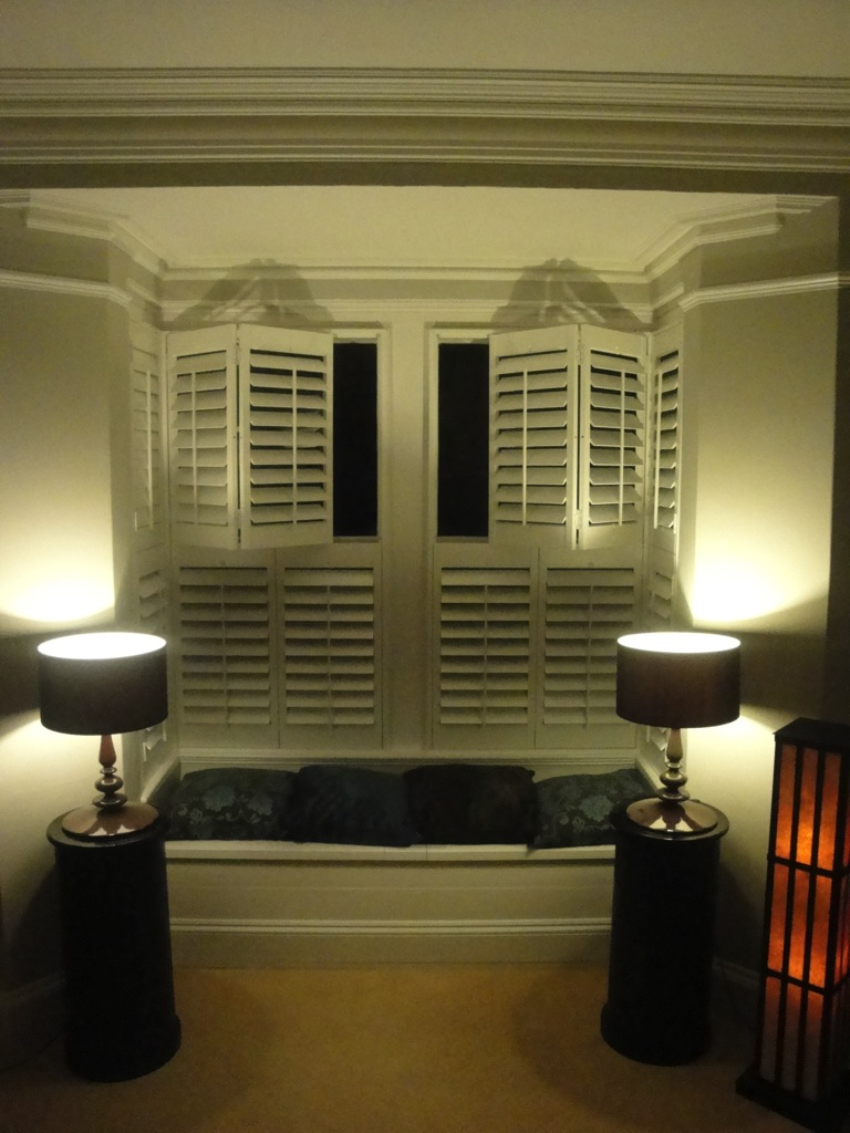 Bay Window Shutters West Country Shutters