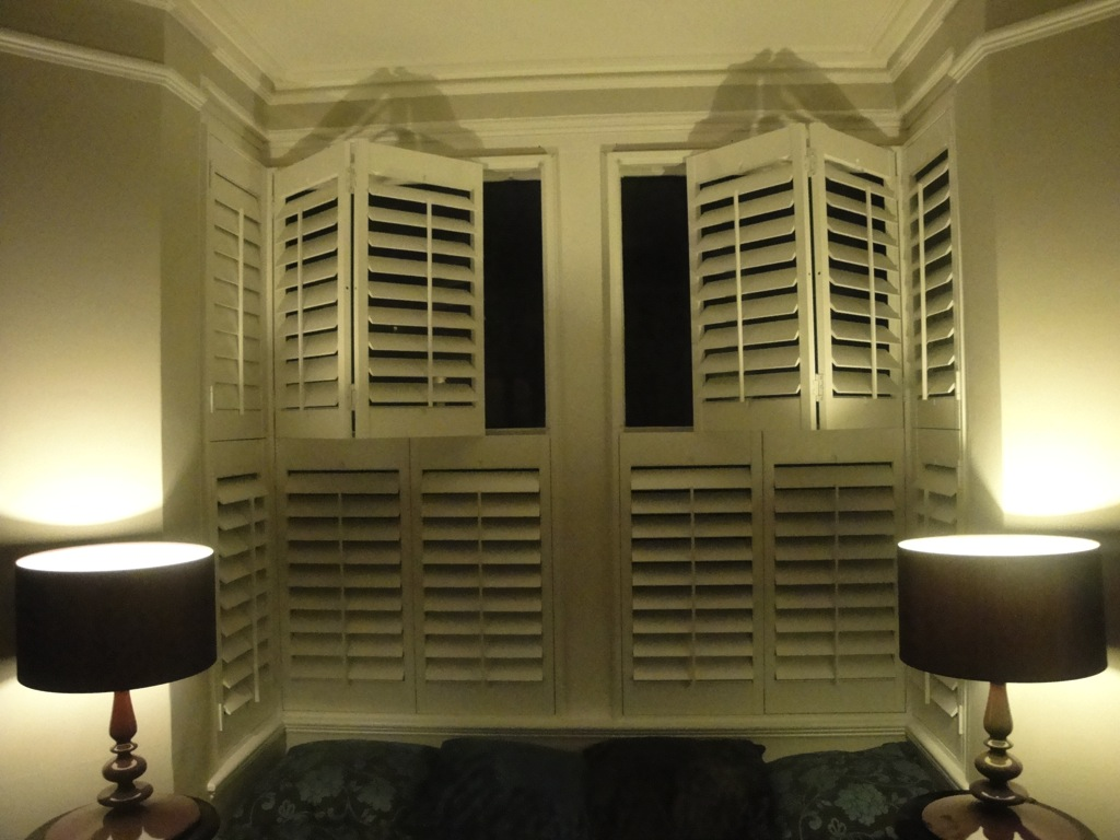 Bay Window Shutters Installation 8