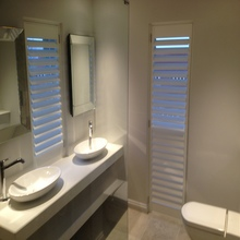 Stylish Devon Bathroom Shutters