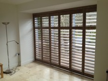 Track Shutters in Cornwall