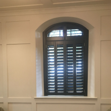 The Clifton Observatory Bristol…wooden plantation shutters installed in this landmark building