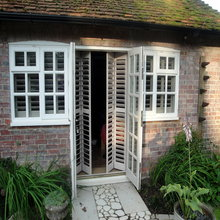 French Door Shutters In Bristol West Country Shutters